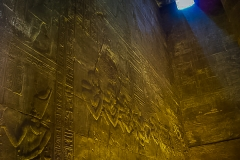 017.The High Priests at Edfu Temple