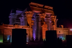 052.Front of Kom Ombo double temple. Right dedicated to the God Horus and the Left to Sobek