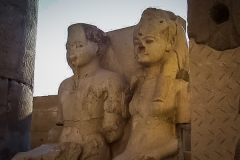 156.Statues at Luxor Temple