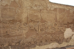 166.Hieroglypohs at Luxor Temple