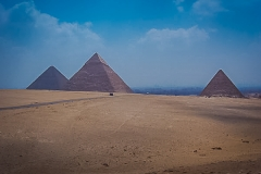 180.The 3 pyramids of the Giza Plateau