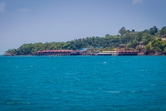 KTM Resort from the sea