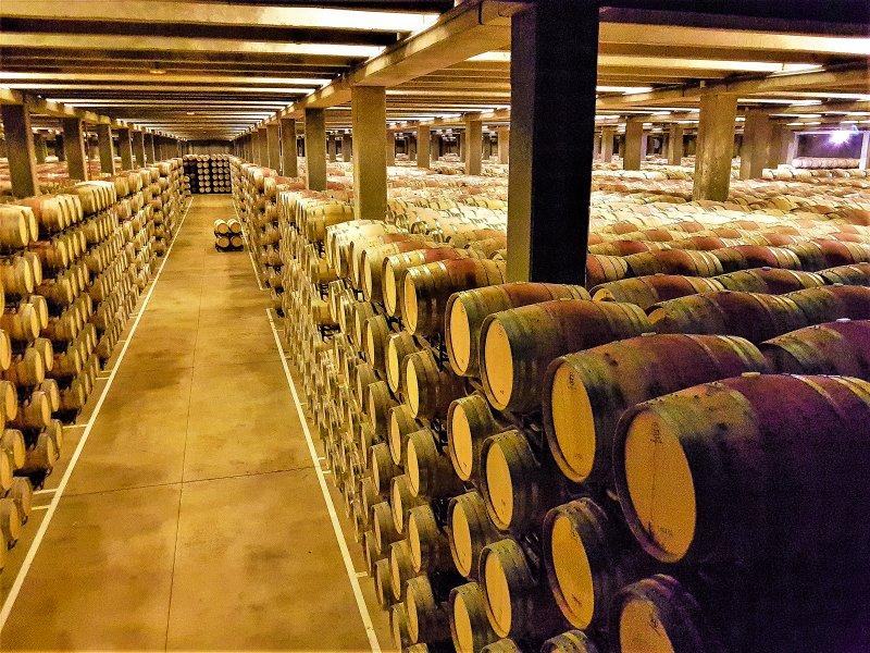 Ever wondered what 70,000 barrels of Rioja looks like?