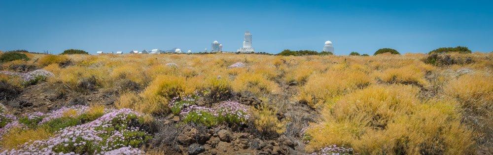 Observatories mount teide tenerife