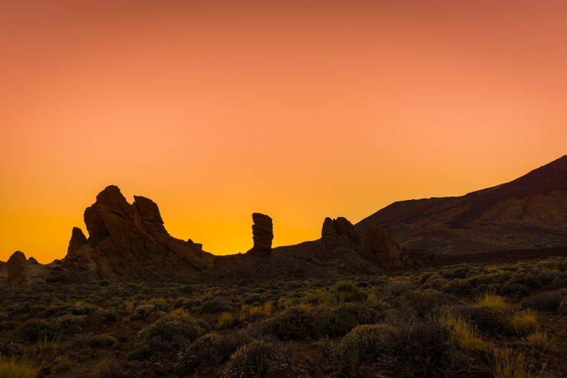 Sunset Mount Teide