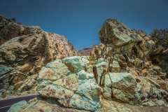 Colourful Rocks Mount Teide Tenerife