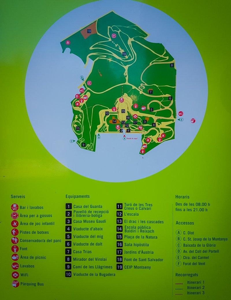 Pak Guell Map