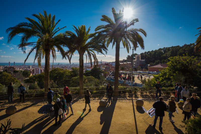 access to park guell