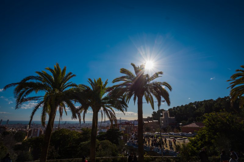 best time to visit park guell