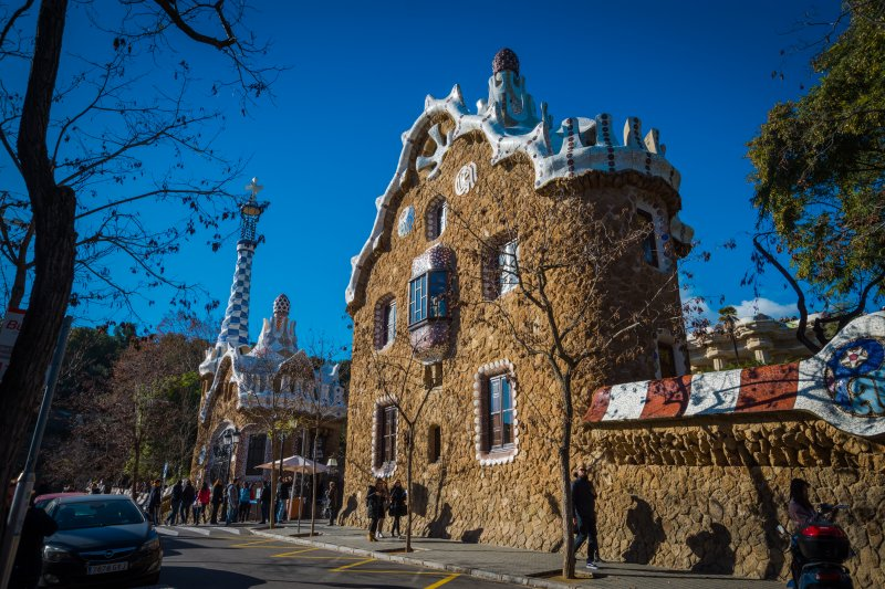 best time to visitpark guell