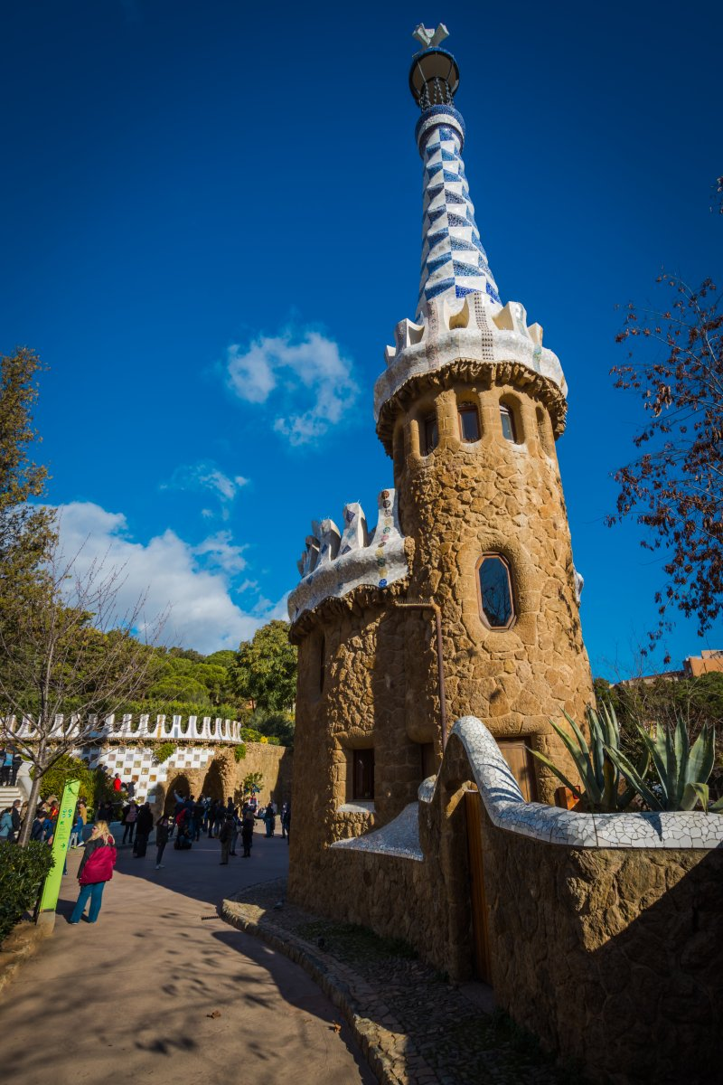 gates of park guell