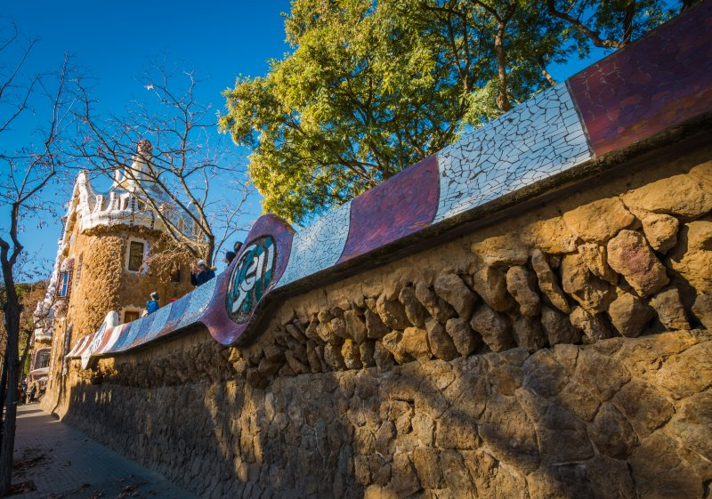 outside park guell1