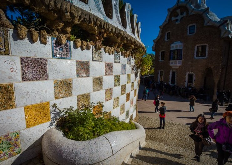 park guell entry