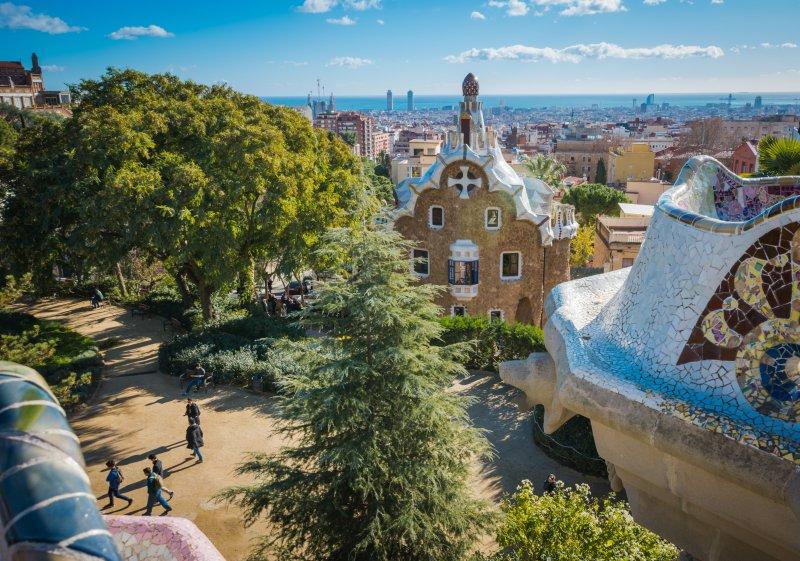 park guell gaudi barcelona