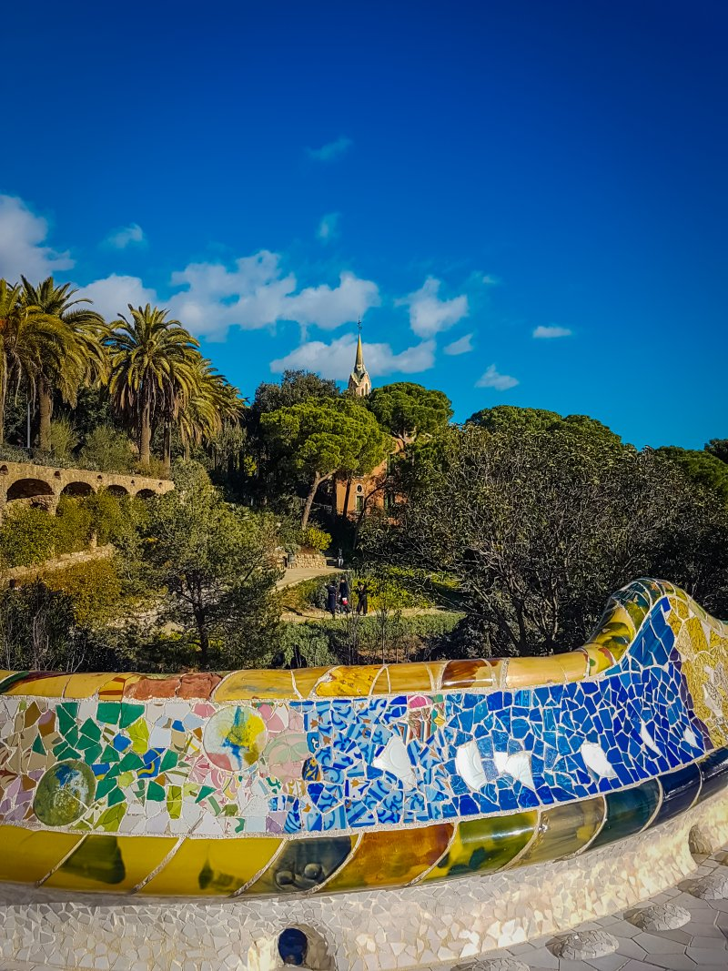 park guell mosiacs 3