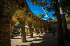 park guell monumental zone