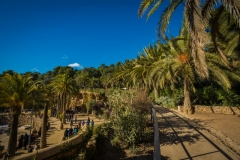 top tips park guell walkways