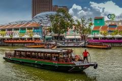 Singapore River Clarke Quat