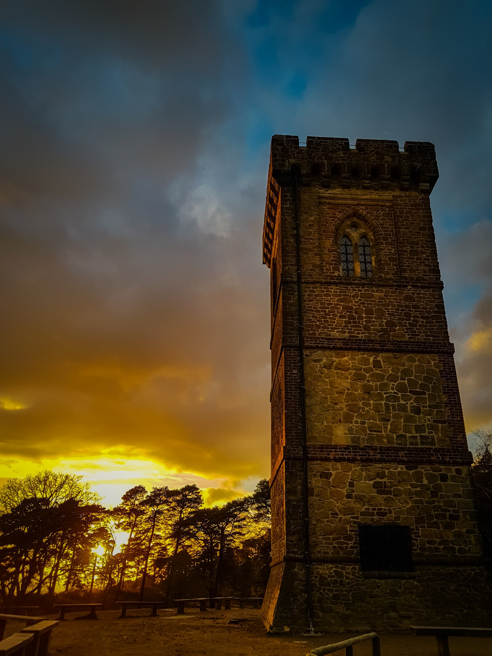 Sunset Leith Hill 2