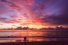 Eccentric Englishman sunset Thailand