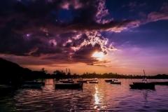 Eccentric Englishman sunset mauritius