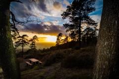sunset leith hill 3