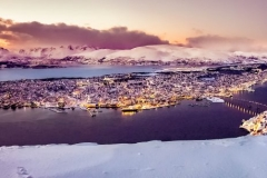 Tromso from above